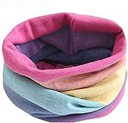 FQSCX Bufandas para damas y niños Otoño Invierno Bufanda de algodón para niños Bufanda para bebés y niños Bufa