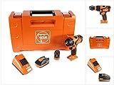 FEIN ABS 18 QC Brushless Li-Ion Akku Bohrschrauber mit QuickIN Bohrfutter in Werkzeugkoffer mit 1x FEIN 2,5 Ah Akku + ALG 50 Schnellladegerät