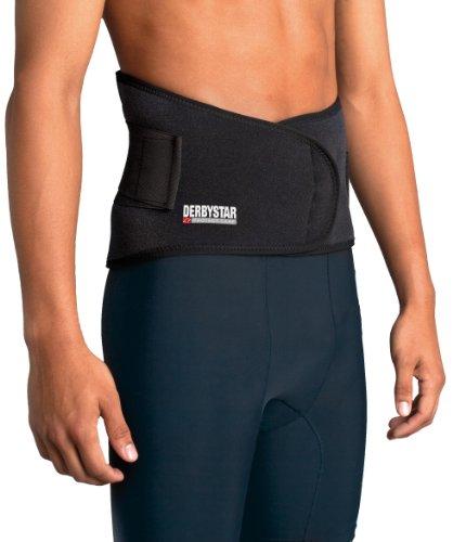 Derbystar Rückenschutz mit Schienen, M, schwarz, 7411040000