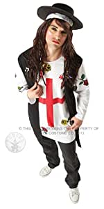 Rubie's Official 80s New Wave Popstar, Adult Costume - X-Large
