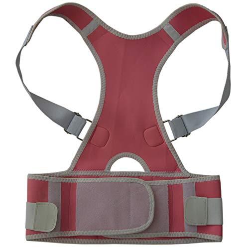 Haltung-support-weste (WDDGPZJD Körperhaltung Korrektor TV Magnetic Posture Support Wirbelsäule Stretch Schulter Rücken Weste Einstellbare Körperhaltung Gürtel Corrector of Posture)