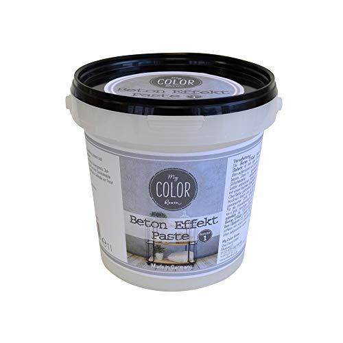 Beton-Effekt 1 Liter - Grau -