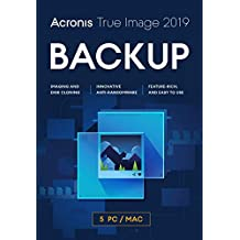 Acronis True Image 2019 5 Computers-FREE UPGRADE TO 2020 version (Activation Key Card)