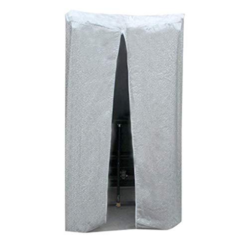 SWJ-Sunshading Nets Wasserdicht Plane Laufband Abdeckung Staubschutzschild Atmungsaktiver Schutz Wasserdicht Für Zuhause, 2 Farben, 3 Größen,Silver-95x80x160cm
