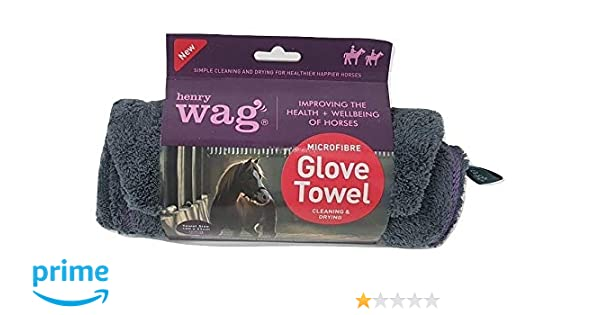 Henry Wag Equine Microfibre Drying Noodle Glove Towel