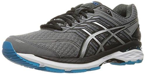 Preisvergleich Produktbild ASICS Men's GT-2000 5 Running Shoe, Carbon/Silver/Island Blue, 10 M US