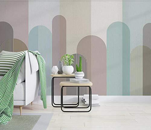 Carta Da Parati Effetto 3D Fotomurali Motivo Geometrico A Mosaico A Colori Design Carta Per Pareti Decorazione Murali Da Parete