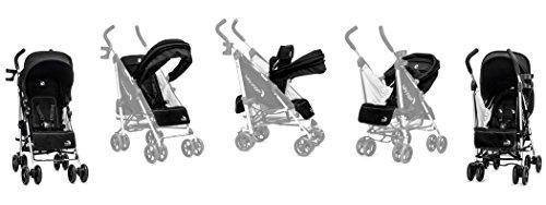 Baby Jogger Vue Stroller/Soft Pram And Full Accessory Bundle, Black