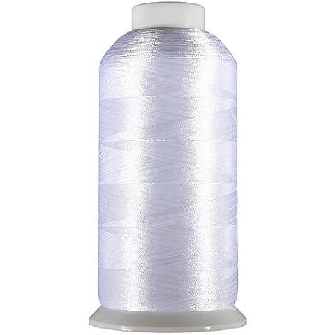Ology(R)- 5000M Blanco y Negro Conos de bolillos costura filamento de poliéster