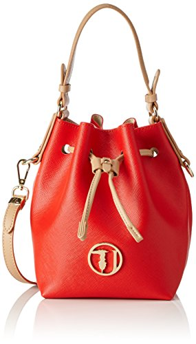 TRUSSARDI JEANS by Trussardi 75bp0553, Sac seau Multicolore (Red/White)