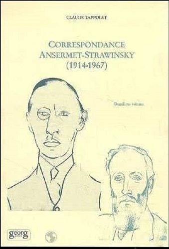 Correspondance Ernest Ansermet-Igor Stra...