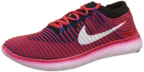 Nike Men's Free Rn Motion Flyknit Orange Running Shoes - 9 UK/India (44 EU)(10 US)(834584-600)  available at amazon for Rs.3242