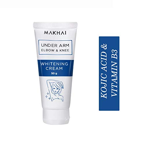 Buy Makhai Underarm Whitening Cream for underarms, elbows, knee with Kojic Acid & VITAMIN B3-50g online in India at discounted price
