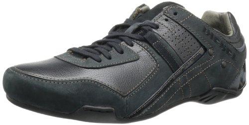 Diesel - Zapatos de cordones hombre, Negro, 42.5