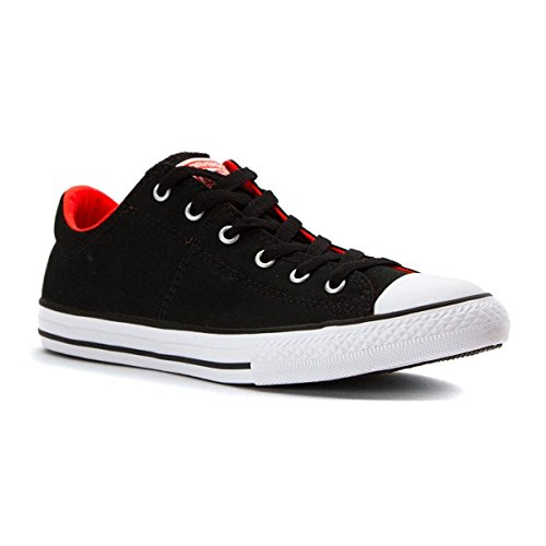 Taylor All Star Madison Ox Fashion Sneaker Shoe - Black Lava White - Boys - 13 ()