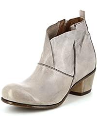 Moma 33705-RH taupe Damen Stiefel in Mittel