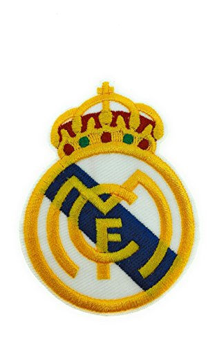 Parche Bordado Escudo Real Madrid Termoadhesivo 7cm