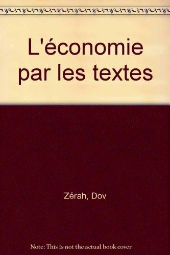 L'économie par les textes