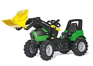 Rolly Toys rollyFarmtrac John Deere 7930 Tretfahrzeug (für Kinder ab drei Jahre, Luftreifen, verstellbarer Sitz) 710133