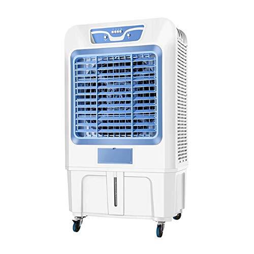 Ventilatori CJC Condizionatori Industria Raffreddatore d'Aria Evaporativo 370/480W, 3 velocità, Serbatoio dell'Acqua 70/100L, Box Auto, Magazzino, Supermercati