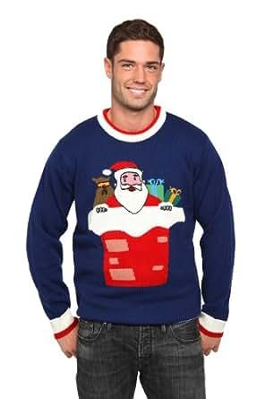 Santa Jumper unisex size XS, blue