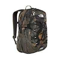 The North Face Borealis Classic Backpack, Unisex, Bright Olive Green Waxed Camo Print