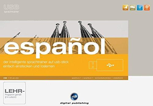 USB Sprachtrainer Español: Das intelligente Sprachlernsystem für Spanisch auf USB-Stick