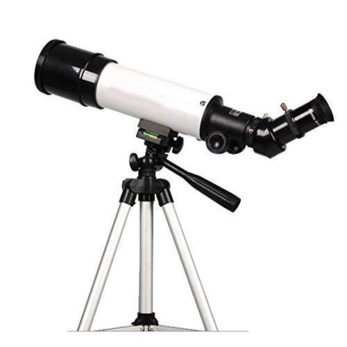 DDSGG Teleskop-Refraktor, Aluminiumlegierung, Fotostativ und Objektivadapter für Anfänger und Kinder Sky Star Gazing Birds Watching