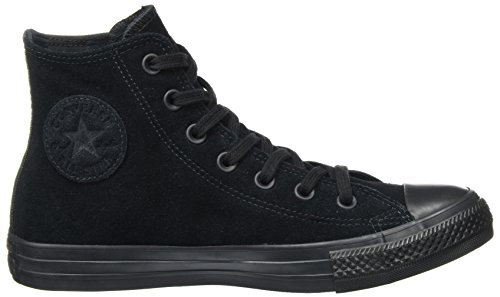 Converse Ctas Hi Black, Sneaker a Collo Alto Unisex – Adulto nero (nero)