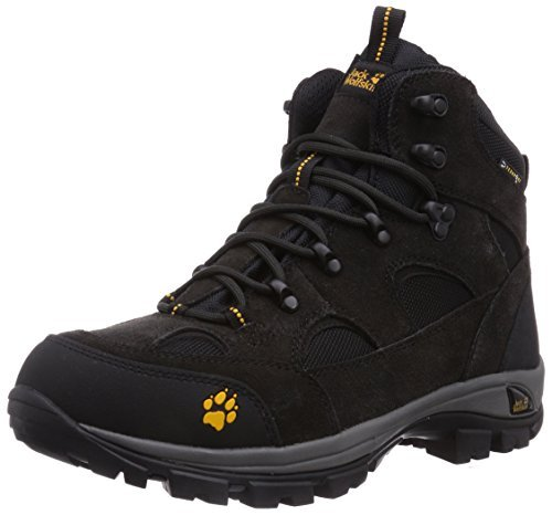 Jack Wolfskin All Terrain Texapore Boots - Nearly Black