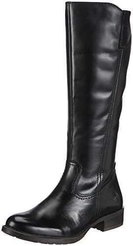 Marco Tozzi Premio 25530, Damen Langschaft Stiefel, Schwarz (Black Antic / 2), 37 EU (4 Damen UK)