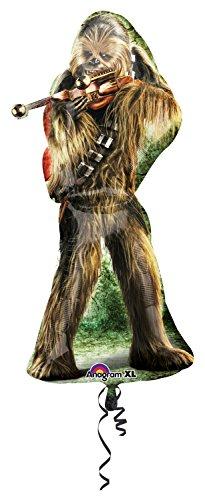 Anagram 3040001 - Folienballon Super Shape, Disney Star Wars, Chewbacca, 43 x 96 cm