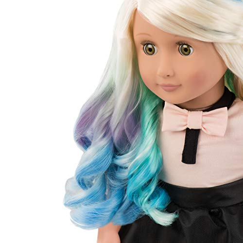 Our Generation 44433 Doll with Chalk Deco Hair, Amya BATTAT Puppe