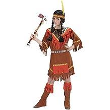 Indian Girls Niña 140cm vestuario Medio 10.8 años (140 cm) de oeste salvaje vestido de lujo