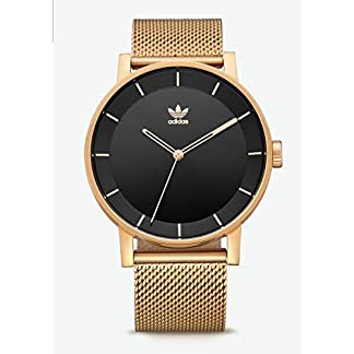 Adidas Reloj Analógico para Hombre de Cuarzo con Correa en Acero Inoxidable Z04-1604-00