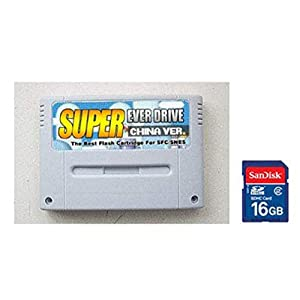 Gratis Versand Original SNES / SFC Super Everdrive Flashwagen+16GB Spielekarte