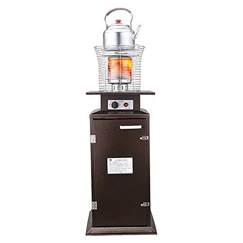Radiador eléctrico MAHZONG Estufa de calefacción de Gas Natural Estufa de asado Interior de Ahorro de energía -4.5W