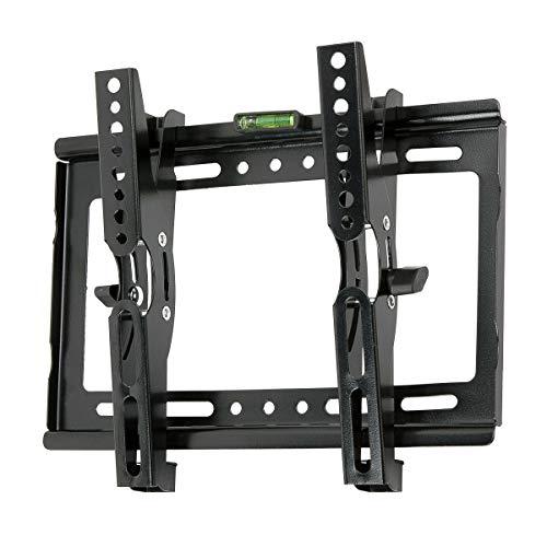 JinXiang TV-Wandhalterung/Monitorhalterung, neigbar, für 35,6-40 Zoll LCD- / LED- / OLED- / 4K-Plasma-Fernseher mit flachem Profil bis zu VESA 200 x 200 mm