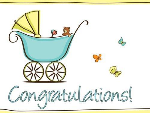 Congratulations! (Baby) - Printable Amazon.co.uk Gift Voucher
