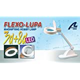 FLEXO LUPA SOBREMESA BASICO 60 LED 3X