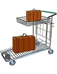Faimex Gepäckwagen Transportwagen Packwagen Kofferwagen Korb klappbar 200 kg Zuladung