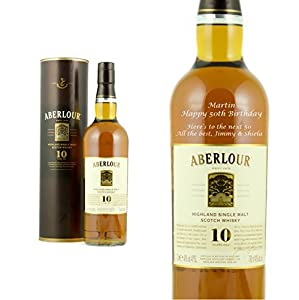 Personalised Aberlour 10 Year Old 70cl by Aberlour