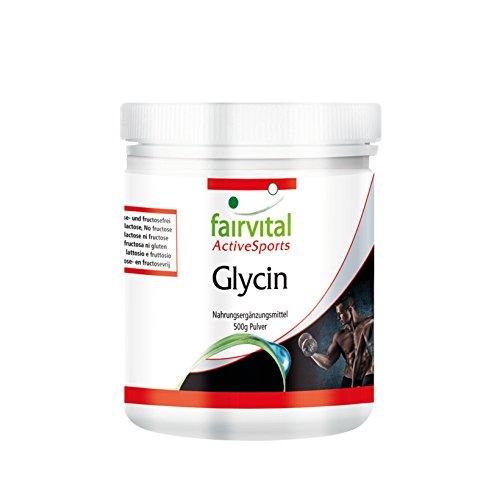 Glycine poudre - set pour pendant 5 mois - végan - 500g - glycine en poudre sans additif