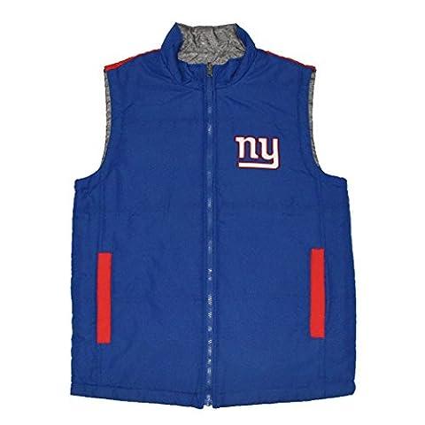 BIG & TALL NFL New York Giants Pour des hommesVeste de survêtement sport / hiver XXL Multicolore