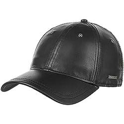 Gorra de Piel Joes by Stetson (One Size - negro)