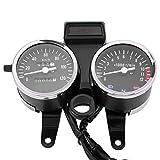 Doble odómetro de la motocicleta digital LED tacómetro velocímetro medidor de aceite accesorios de modificación de la motocicleta