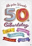 Musikkarten mit Sound Überraschung 009a zum 50. Geburtstag