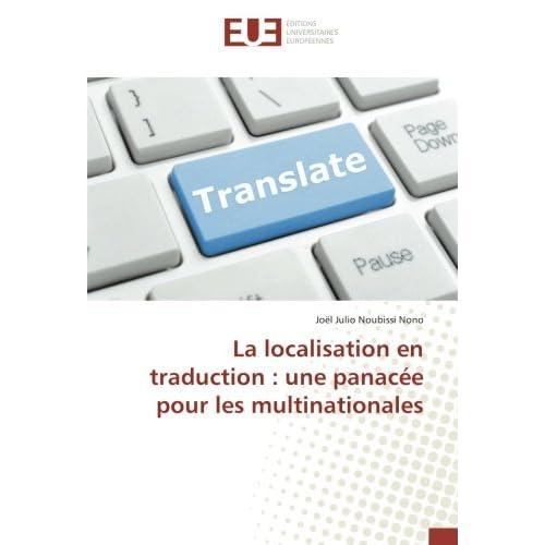 La localisation en traduction : une panacée pour les multinationales