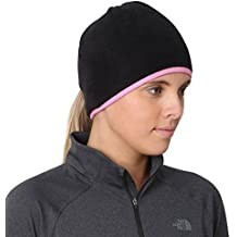 TrailHeads Goodbye Girl - Gorro (orificio posterior para gorra), color negro/rosa