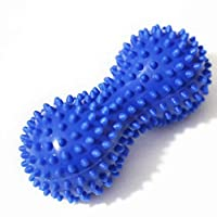 SHANF Massage Tool Peanut Fascia Ball Hedgehog Mobility Ball Muscle Relaxer for Yoga(Dark Blue)